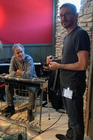 Greg and Glen at ParSonics Studios