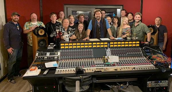 Group pic at ParSonics Studios