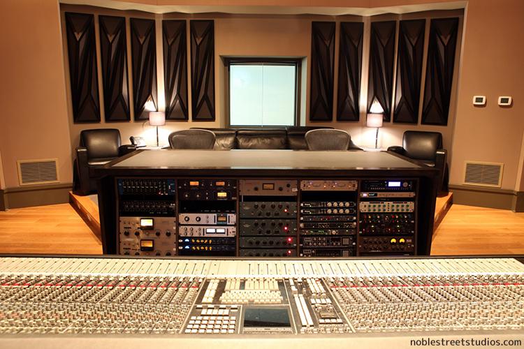 Noble Studios Control Room